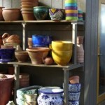 Pottery in all shapes, sizes, and colors.